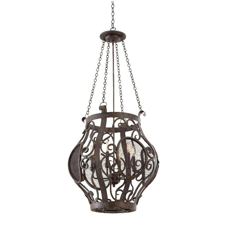 Isabel 6 Light Pendant