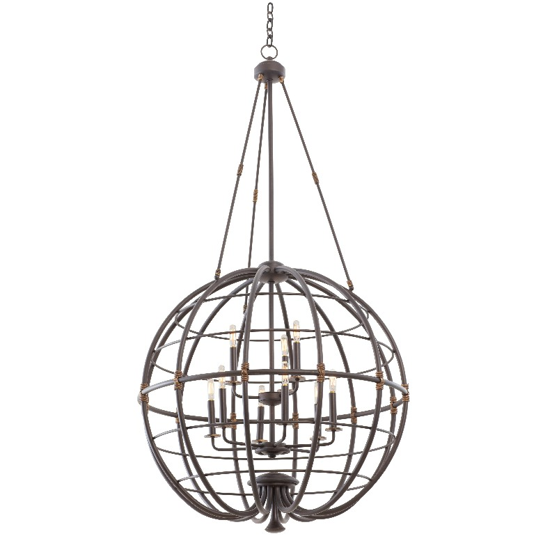 Larson 6 + 3 Light Pendant