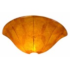 "NS08Buddha Leaf13.5"" Wall Sconce"
