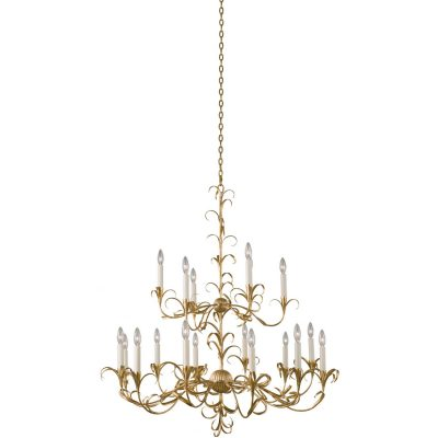 Ainsley (12+6) Light 2 Tier Chandelier