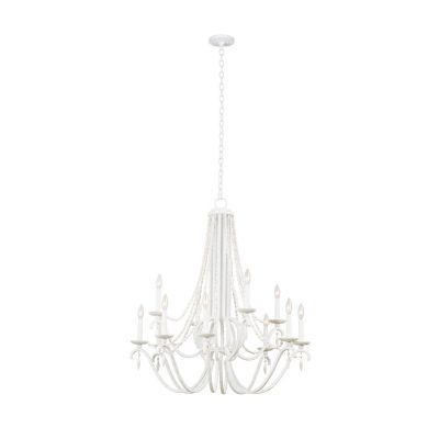 Acadia (8+4) Light 2 Tier Chandelier