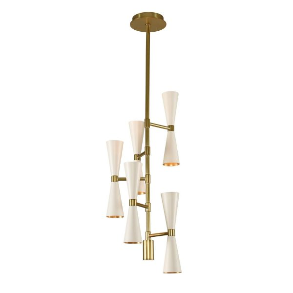 Foyer Lighting Nz : Milo light foyer chandelier kalco