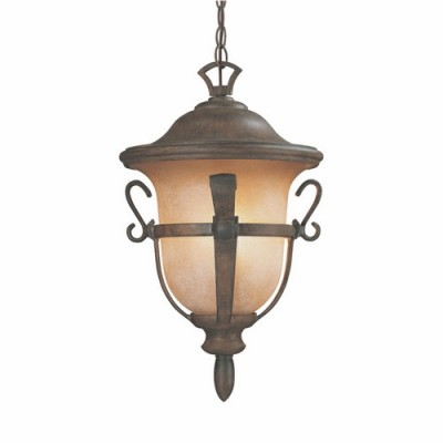 Tudor outdoor 3 light medium hanging lantern